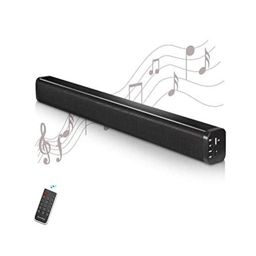 Sound Bar voor TV 5.1, Soundbar met ingebouwde subwoofer, Wired & Wireless Bluetooth 5.0 Speaker voor TV, 3D Surround Sound Systemhdmi/Optical/AUX/USB-ingang