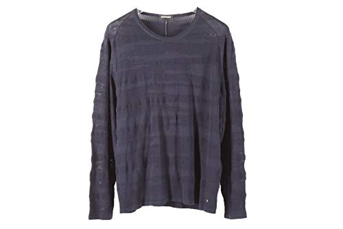 Burlington 2150494 Herren Pullover Strickpullover Sweater Gr. 54 dunkelblau Neu