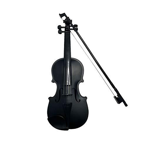 Toy Violin Plastic Violin Battery Power Adjustable Volume Educational Toys for Children