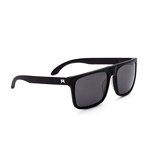 William Painter Level Titanium Polarized Sunglasses, (Black/Black)