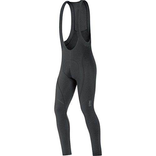 GORE BIKE WEAR Culote largo térmico para ciclismo, Hombre, Badana, GORE Selected Fabrics, 2.0 Thermo Bibtights+, Talla S, Negro, WELTMS990003