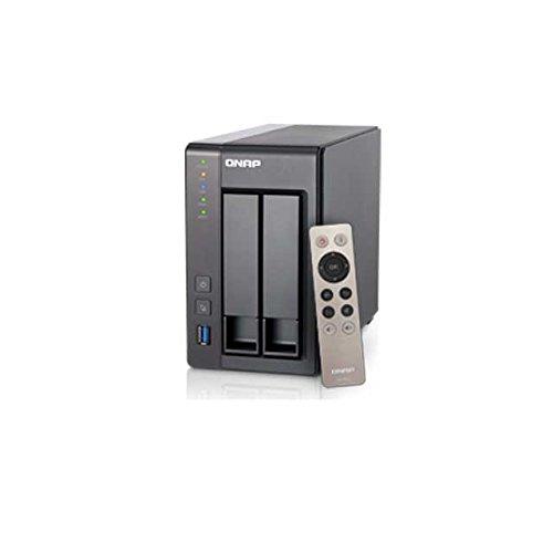 Qnap TS-251+ 2.0GHz QuadCore 8GB Ram 2-Bay NAS Server Bundle 6TB mit 2X 3TB HDs 7200 U/min