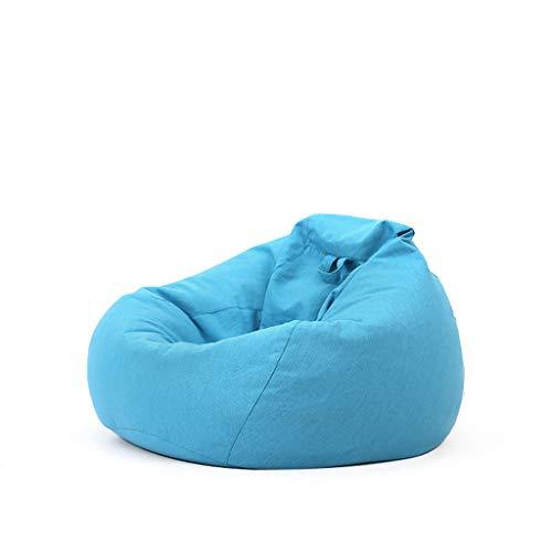 Chaises Longues canapé Chaise Longue canapé de Loisirs Bean Bag Dossier Balcon Chambre à Coucher Loisirs Portable 5 Couleurs 60 * 80 cm (Couleur : E)