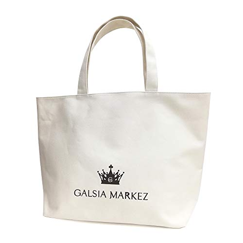 GALSIA MARKEZ Crown Canvas Tote Bag/トート/ FREE/IVO