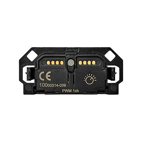 Interruptor regulable electrónico Tira de Led (PWM), serie 100, 2 x 5 x 3 centímetros, color negro (referencia: 10000314-039)