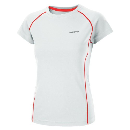 Craghoppers Inessa Base t-Shirt Fonctionnel pour Femme 38 Blanc - Blanc