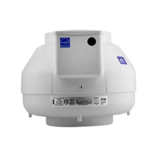 RadonAway 28208 RP380 Radon Mitigation Fan, 8'