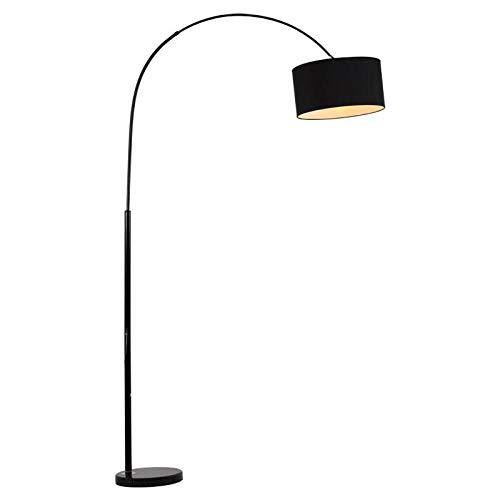Vloerlamp, vislamp vloerlamp, woonkamer slaapkamer verticaal dimmen oogbescherming leeslamp bed-H12W intelligente afstandsbediening dimmen en kleuraanpassing