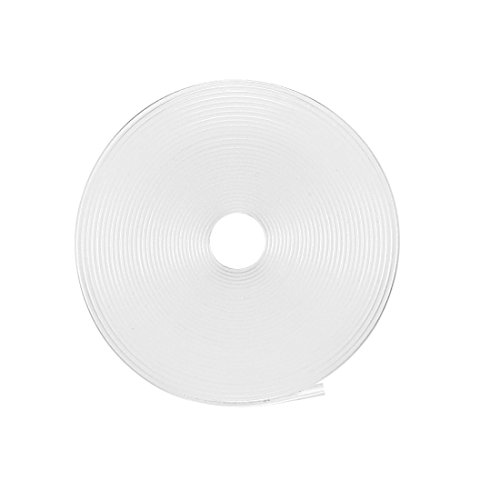uxcell Heat Shrink Tubing 1/2-inch(12mm) Dia 19mm Flat Width 2:1 Heat Shrink Tube Wire Wrap 16ft Clear