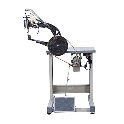 Máquina Eléctrica De Reparación De Zapatos De Cuero De Doble Propósito Operada A Mano, Máquina De Coser Doble De Hilo De Algodón Y Nailon,Oblique Head Machine