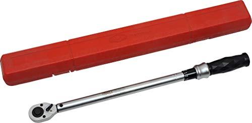 FAMEX 10864 Drehmomentschlüssel, 12,5 mm (1/2-Zoll)-Antrieb, 50-350 Nm, für Messung in beiden Drehrichtungen