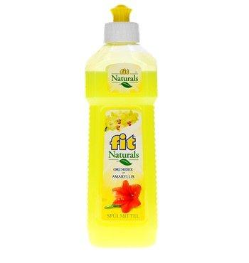 Geschirrspülmittel Fit Naturals Spülmittel Orchidee Amaryllis, 500 ml