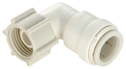 Watts P-635 Quick Connect Female Swivel Elbow, 1/2-Inch CTS x 1/2-Inch FPT by Watts