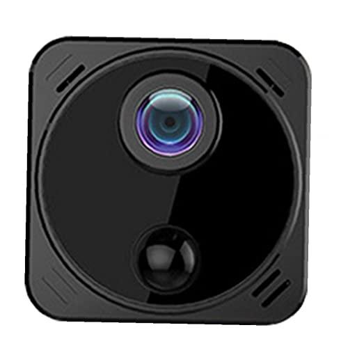 Mini cámaras de seguridad de conexión WiFi real 1080P HD Cam niñera con Negro de detección de movimiento de visión nocturna
