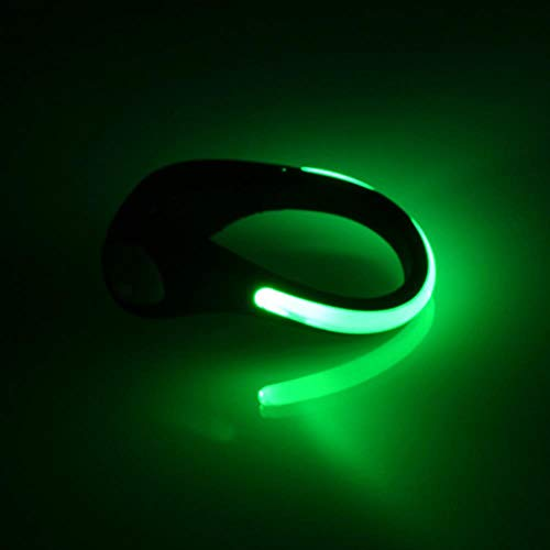 Led Lichtgevende Schoen Clip Lichten Rijden Buitenverlichting Rgb Nieuwigheid Verlichting Veiligheidslichten, Kan Voor En Na Worden Gebruikt