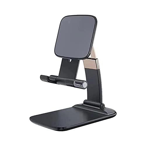 mooderf Soporte ajustable para teléfono móvil, tableta, soporte para mesa, teléfono móvil, soporte de escritorio, compatible con dispositivos de 12 11 Pro Max de 4 a 8 pulgadas