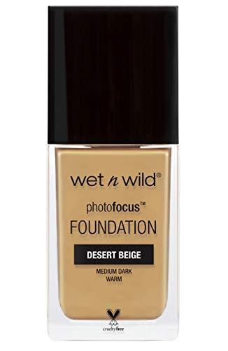 Wet 'n' Wild Photo Focus Foundation, Desert Beige - 30 Ml