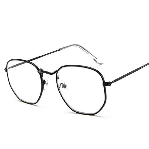 SHEANAON Gafas de Sol ovaladas pequeñas para Mujer, Gafas de Sol de Espejo Coloridas de Metal Rojo para Mujer, Moda UV400