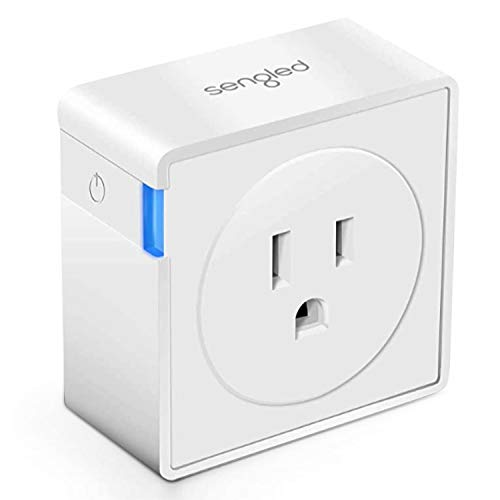 Sengled Smart Plug, Hub Required, 15A Maximum, Compatible with Alexa, Google Assistant and SmartThings, 1 Pack