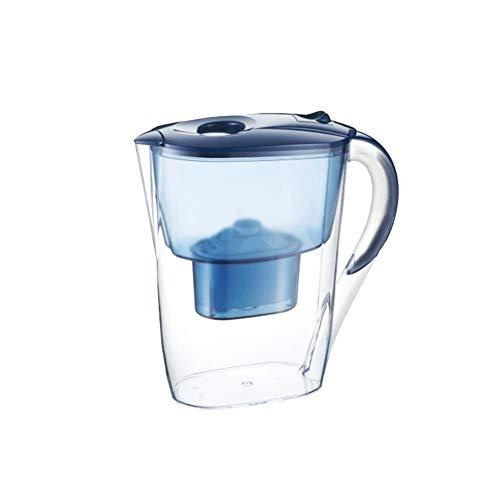 Huishoudelijke netfles Keuken Draagbare waterzuiveraar Dechlorering Waterfilter Alkalische waterfles - 3,5 liter 7-niveaus filtersysteem Kan het pH-niveau zuiveren en verhogen