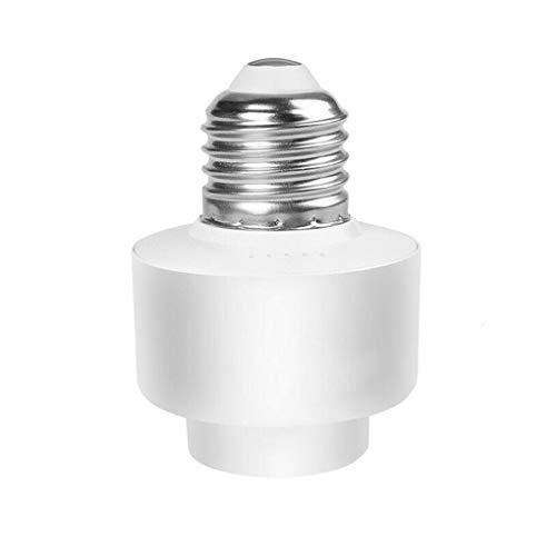 Kesilian Inteligente WiFi E26 / E27 del sostenedor de Bulbo inalámbrica Inteligente función de temporización de Control de luz Socket Soporte Remoto Control de Voz