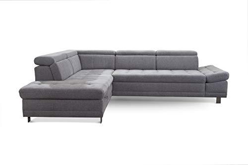"Ecksofa günstig: Cavadore Sofa ""I"" in L-Form /   Ottomane Bild 6*"
