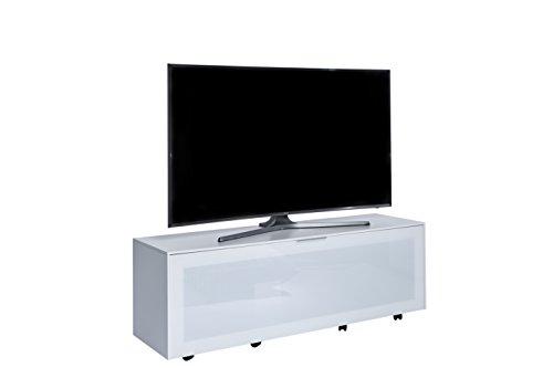 Jahnke Meuble TV TL 514 Active, Bois, Blanc, 40 x 140 x 45 cm