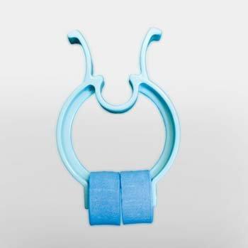 2-244-0001 PT# 2-244-0001- Clip Nose Spirometry Midmark Disposable Blue 25/Pk by, Midmark Corporation