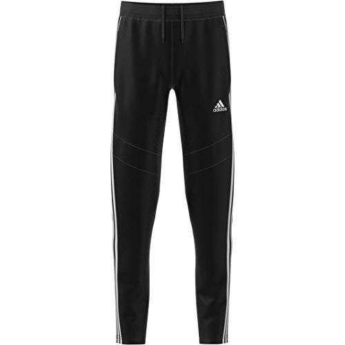 adidas Tiro19 Training Pant Youth Girl Pantalones, Negro/Blanco, Large para Niñas