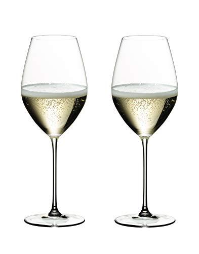RIEDEL 6449/28 Veritas Champagne Wine Glass (Estuche 2 Copas)