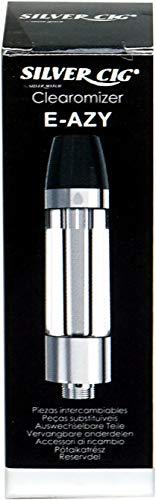 Silver Cig E-AZY Silver (Clearomizer)