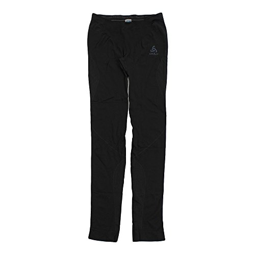 Odlo Suw Bottom Performance Light Pantalon Technique Femme L Noir/Gris (Graphite Grey)