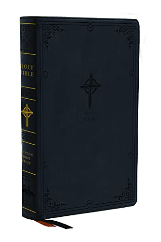 Compare Textbook Prices for NABRE, New American Bible, Revised Edition, Catholic Bible, Large Print Edition, Leathersoft, Black, Comfort Print: Holy Bible Large type / Large print Edition ISBN 9780785233916 by Catholic Bible Press