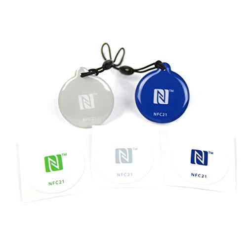 NFC Starter Kit, der perfekte Einstieg in die NFC Welt, kompatibel mit Allen NFC Smartphones, Starter Kit Mini