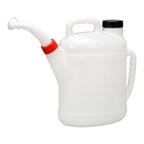 Füllkanne Ölkanne Wasser Öl Wischwasser Messkanne Einfüllkanne Gieser 10 Liter