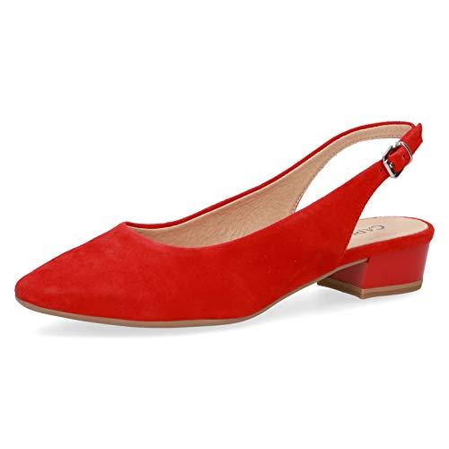 CAPRICE 9-29403-24 Calzature Donna Sandali Sling, schuhgröße_1:39, Farbe:Rosso