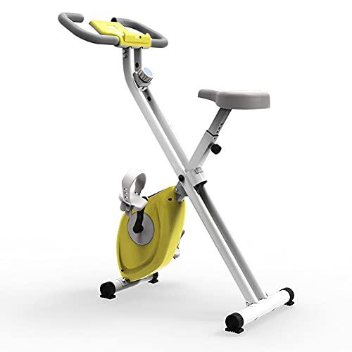 HXXXIN Bicicleta de Ciclismo de Interior Plegable Bicicleta Vertical magnética Bicicleta estática Bicicleta de Ejercicio reclinada Bicicletas de Ejercicio de magnetrón silencioso para el hogar para