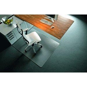 Rollsafe Bodenschutzmatte Teppichböden 150x120cm transparent eckig