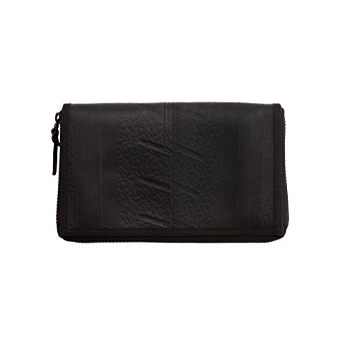 Vegan Travel Makeup and Organiser Bag – by Paguro. Unisex, Document Holder & Organiser for Passports, ID Card, Credit Card, Flight, Coins, Phone and Money. Eco-Friendly Pouch. Leather Substitute.