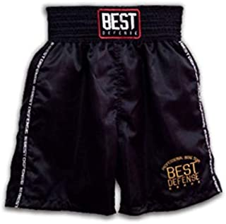 Calção de Boxe Best Defense Preto