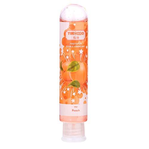 80 ml Comestible Sabor de la Fruta de lubricante a Base de Agua no tóxico lubricante Sexual Anal Oral Gel Sex Lube