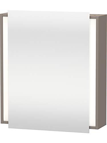 Duravit Spiegelschrank Ketho 180x650x750mm 1 Spiegeltür, TA links, basalt matt, KT7530L4343