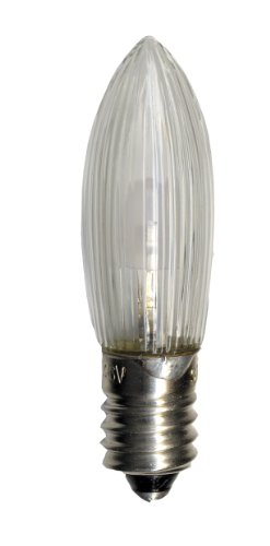 Best Season Universal LED Ersatzleuchtmittel / E10 / 2100 K/imitiert 10-55 V, 0.2 W / 7 Stück auf Karte/klar 300-70