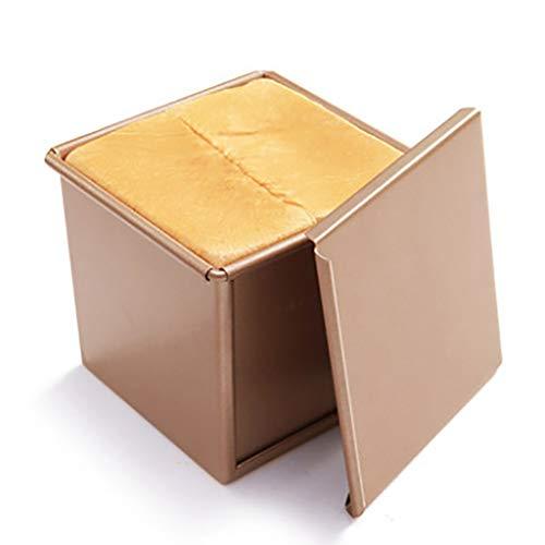 J-ouuo Toastpfanne antihaftbeschichtet Toast Backbox Brotform mit Deckel Backgeschirr Kastenform Brot Backform Backform Backform Gebäckwerkzeug