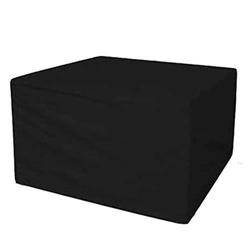 WZDD Funda De Muebles Jardin Impermeable 213x132x74cm, Funda para Mesa Exterior Rectangular, 420D Paño Oxford Cubierta De Mesa Al Aire Libre, Anti-UV, Resitente Al Polvo