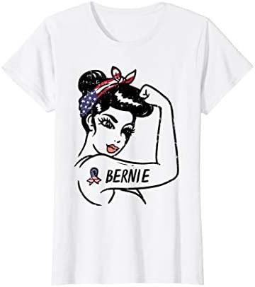 Womens Bernie Woman Unbreakable 2020 President Girls For Sanders T Shirt product image