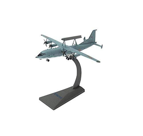 JIALI Modelo de fundición de aleación de Luchador Militar, 1/200 Scale Air Police 2000 AWACS Modelo, Juguetes para Adultos y Decoraciones, 7.5 Pulgadas x 7.9 Pulgadas