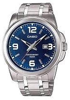 Casio Stainless Steel Watch For Men [Mtp-1314D-2Av], Analog Display