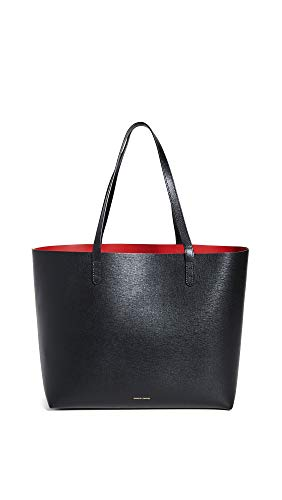 Leather: Cowhide Structured silhouette with open top and crosshatch texture, Removable zip pouch Length: 18in / 46cm Height: 11.75in / 30cm Shoulder straps