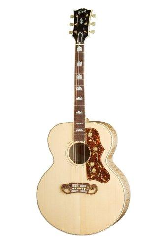 Gibson J-200 Standard Vintage Sunburst Akustikgitarre, PickUp, Jumbo, mit Tasche